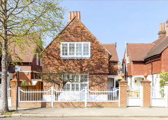 Marlborough Crescent, Chiswick, London, W4