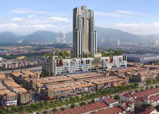 Pusat Perdagangan PJU5, Persiaran Mahogani, Kota Damansara